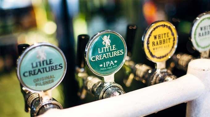 Beer Taps at The Notting Hill Hotel