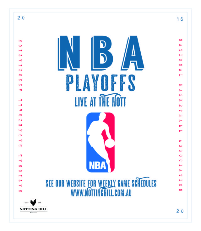NBA live at The Nott