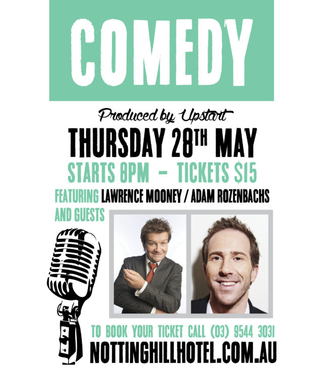 Live-Comedy-The Notting-Hill-Hotel-May