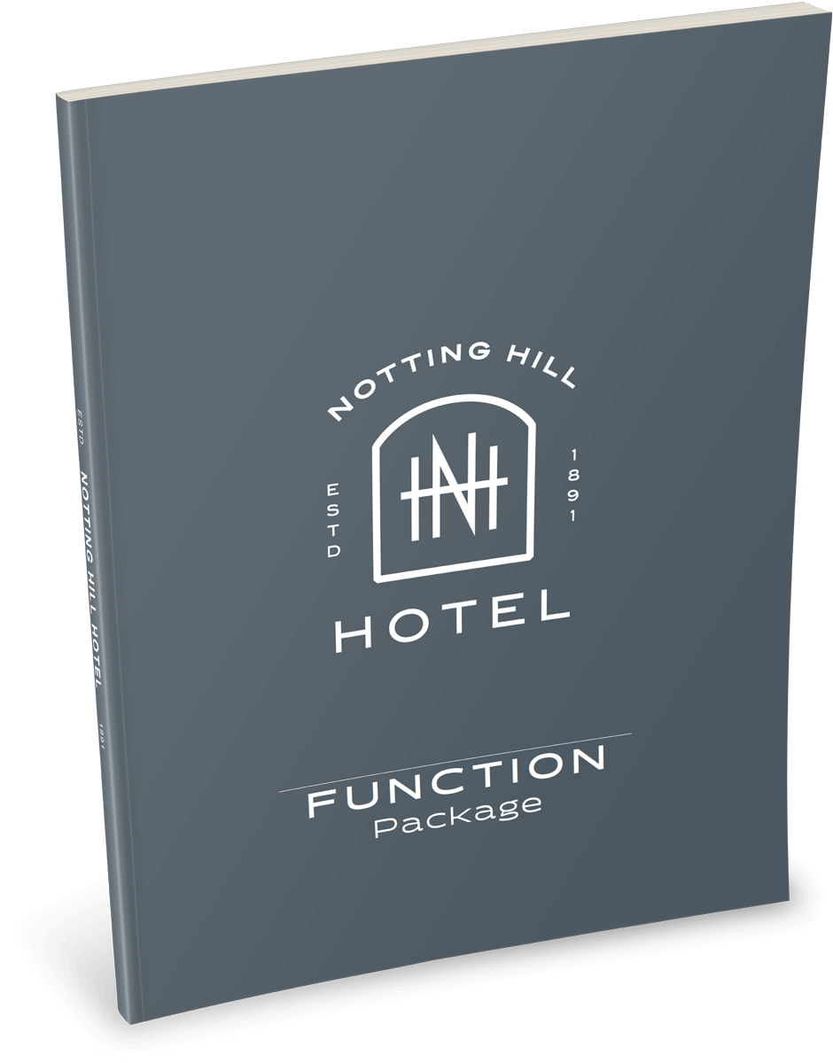 Notting Hill Hotel Functions Pack